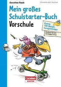 Cover von Einfach lernen mit Rabe Linus - Mein großes Schulstarter-Buch