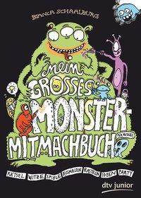 Cover von Mein großes Monster-Mitmachbuch