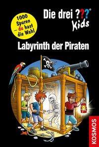 Cover von Die drei ??? Kids und du, Labyrinth der Piraten