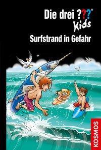 Cover von Die drei ??? Kids, 73, Surfstrand in Gefahr