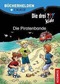 Cover von Die drei ??? Kids, Bücherhelden, Die Piratenbande