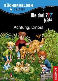 Cover von Die drei ??? Kids, Bücherhelden, Achtung, Dinos!