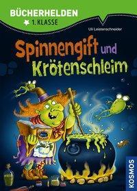 Cover von Spinnengift und Krötenschleim, Bücherhelden
