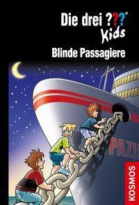 Cover von Die drei ??? Kids, 76, Blinde Passagiere