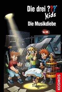 Cover von Die drei ??? Kids, 77, Die Musikdiebe