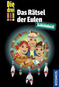 Cover von Die drei !!!, Das Rätsel der Eulen