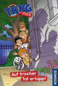 Cover von TKKG Junior,1, Auf frischer Tat ertappt