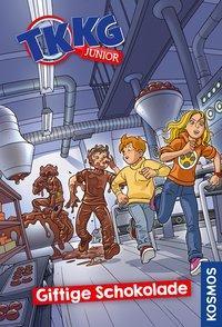 Cover von TKKG Junior, 3, Giftige Schokolade