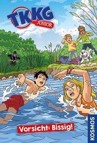Cover von TKKG Junior, 2, Vorsicht: Bissig!