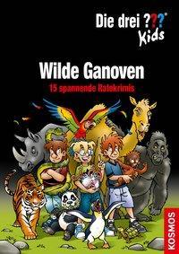 Cover von Die drei ??? Kids, Wilde Ganoven.