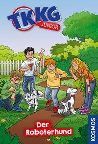 Cover von TKKG Junior, 9, Der Roboterhund