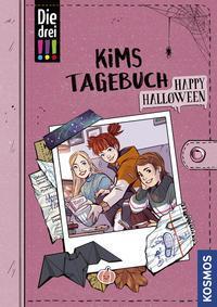 Cover von Die drei !!!, Kims Tagebuch, Happy Halloween