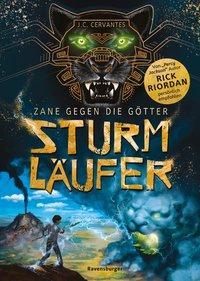 Cover von Zane gegen die Götter, Band 1: Sturmläufer