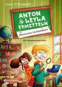 Cover von Anton und Leyla ermitteln, Band 01
