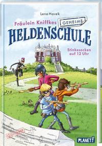 Cover von Fräulein Kniffkes geheime Heldenschule 1: Stinkesocken auf 12 Uhr