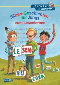 Cover von LESEMAUS zum Lesenlernen Sammelbände: Silben-Geschichten für Jungs zum Lesenlernen
