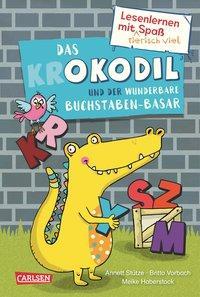 Cover von Lesenlernen mit tierisch viel Spaß: Das Okodil und der wunderbare Buchstaben-Basar