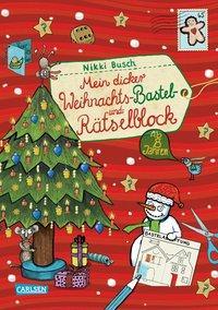 Cover von Mein dicker Weihnachts-Bastel- und Rätselblock