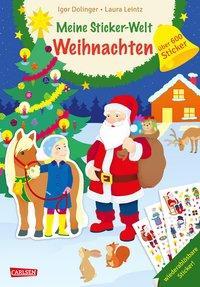 Cover von Meine Sticker-Welt: Weihnachten: über 600 Sticker