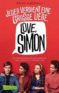 Cover von Love, Simon (Filmausgabe) (Nur drei Worte – Love, Simon )
