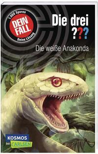 Cover von Die drei ???: Dein Fall: Die weiße Anakonda