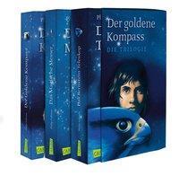 Cover von His Dark Materials: Der Goldene Kompass-Schuber, Das Magische Messer, Das Bernstein-Teleskop
