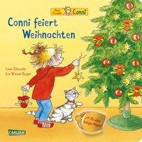 Cover von Conni-Bilderbücher: Conni feiert Weihnachten (Pappenbuch mit Klappen)