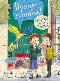 Cover von Donnerschnitzel - Mein Opa ist ein Papagei!