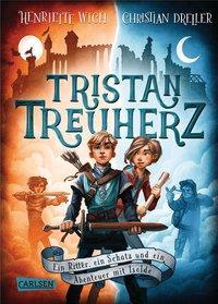 Cover von Tristan Treuherz - Ein Ritter, ein Schatz und ein Abenteuer mit Isolde