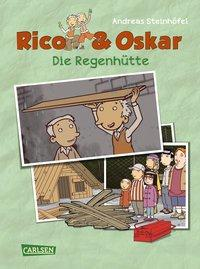 Cover von Rico & Oskar (Kindercomic): Die Regenhütte