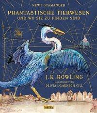 Cover von Phantastische Tierwesen und wo sie zu finden sind (vierfarbig illustrierte Schmuckausgabe)