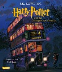 Cover von Harry Potter und der Gefangene von Askaban (vierfarbig illustrierte Schmuckausgabe) (Harry Potter 3)