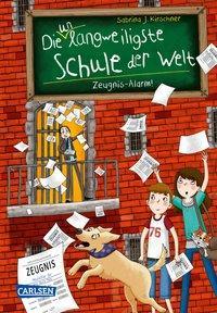 Cover von Die unlangweiligste Schule der Welt 4: Zeugnis-Alarm!