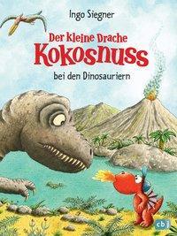 Cover von Der kleine Drache Kokosnuss bei den Dinosauriern