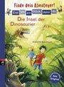 Cover von Erst ich ein Stück, dann du - Finde dein Abenteuer! Die Insel der Dinosaurier