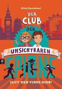 Cover von Der Club der unsichtbaren Spione jagt den Virus-Dieb