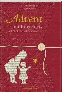 Cover von Lesezauber: Advent mit Ringelnatz - Briefbuch zum Aufschneiden