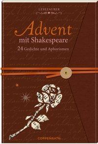 Cover von Briefbuch – Advent mit Shakespeare