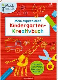 Cover von Mein superdickes Kindergarten-Kreativbuch