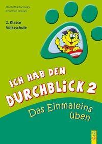 Cover von Ich hab den Durchblick 2 - Das Einmaleins üben
