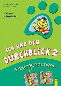 Cover von Ich hab den Durchblick 2 - Textrechnungen