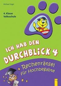 Cover von Ich hab den Durchblick 4 - Rechenrätsel für Hochbegabte