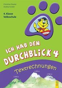 Cover von Ich hab den Durchblick: Textrechnungen 4