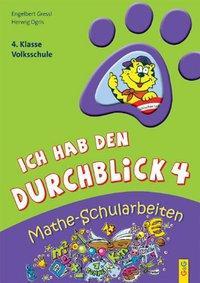 Cover von Ich hab den Durchblick: Mathe-Schularbeiten 4