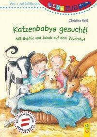 Cover von LESEZUG/Vor- und Mitlesen: Katzenbabys gesucht!