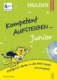 Cover von Kompetent Aufsteigen Junior Englisch 4. Klasse VS mit CD