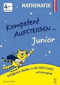 Cover von Kompetent Aufsteigen Junior Mathematik 4. Klasse VS