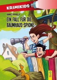 Cover von KrimiKids - Ein Fall für die Baumhaus-Spione