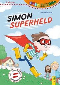 Cover von LESEZUG/1. Klasse: Simon Superheld