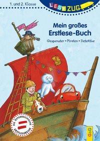 Cover von LESEZUG/1.-2. Klasse: Mein großes Erstlese-Buch - Gespenster, Piraten, Detektive